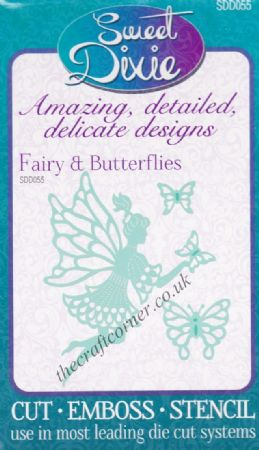 Fairy & Butterflies Sweet Dixie Die